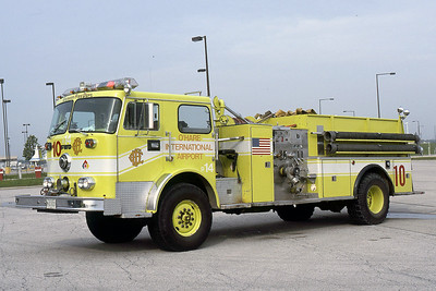 ENGINE 10  1973 FWD-SEAGRAVE  1250-500  LIME GREEN