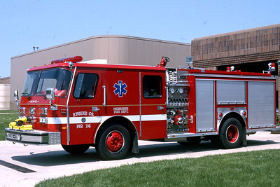 ENGINE 14  1990 E-ONE HUSH  1500-500  DF