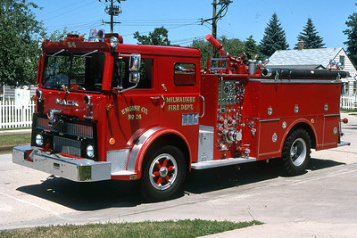 ENGINE 24  1975 MACK MB-HOWE  1500-400