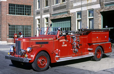 ENGINE 43  1953 PIRSCH  1000-0  DF