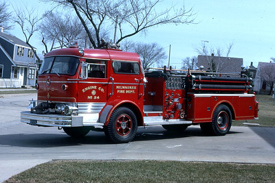 ENGINE 24  1963 MACK C95  1000-250  CODE 390