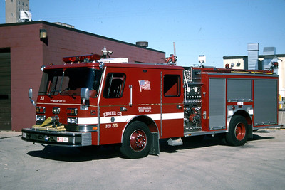 ENGINE 33  1990 E-ONE HUSH  1500-500 #340