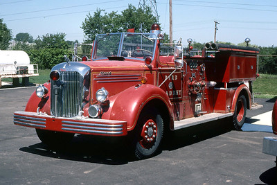 ENGINE 50  1949 MACK 1000-0  DF