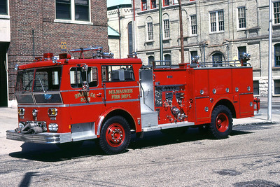 ENGINE 6  1971 WLF P-80  1000-300  DF