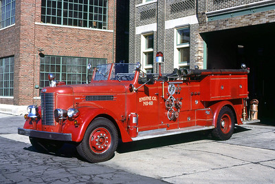 ENGINE 40  1951 PIRSCH  1000-0 CODE 375  DF