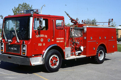 ENGINE 8  1981 MACK MC  1250-500  DF