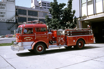 ENGINE 20  1966 MACK C95  1000-300
