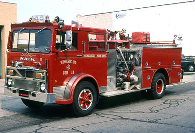 ENGINE 11  1979 MACK - PIERCE  1250-400