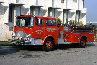 ENGINE 12  1968 MACK CF  1000-300  CODE 399