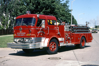 ENGINE 9  1965 MACK C95  1000-300  DF