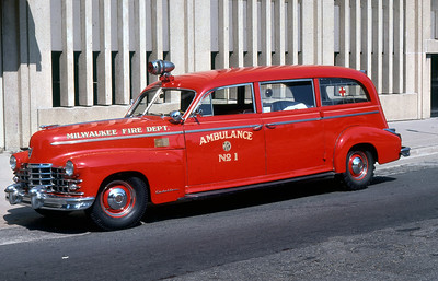 AMBULANCE 1  1947 CADILLAC