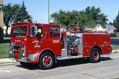 ENGINE 25  1978 MACK-PIERCE  1250-400