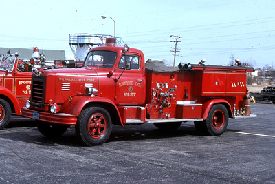 ENGINE 27  1955 FWD  750-500  CODE 383