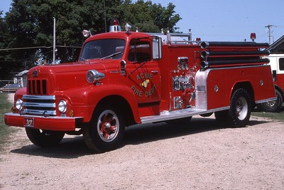 ACME FIRE COMPANY - MADISON  1956 IHC R190-FIREFIGHTER  750-750  PRIVATE OWNER