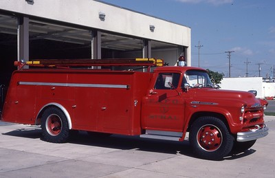 FORT ATKINSON FD   RURAL 3  1956 CHEVY-  0-1000