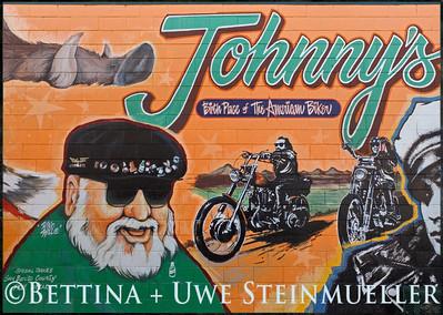 Biker Mural