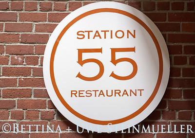 Station 55 Sign