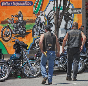 Bikers At Johnny's
