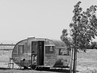 1957 Camping Trailer