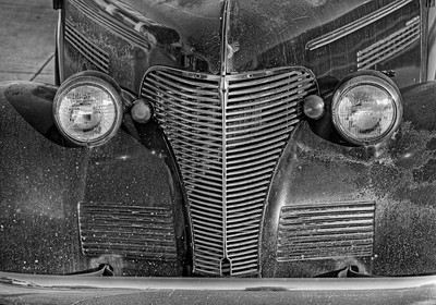 Hollister Vintage Cars B&W