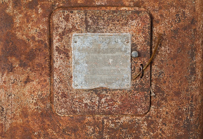 Rusted Gas Pump Detail (5D2)