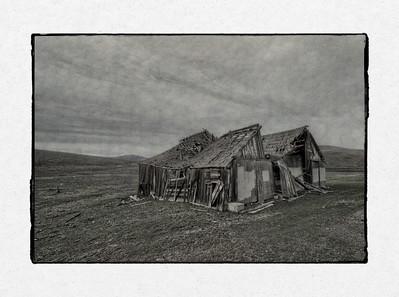 Barn Ruin Blended #1