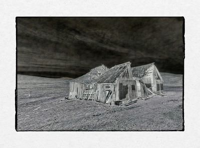 Barn Ruin Blended #2