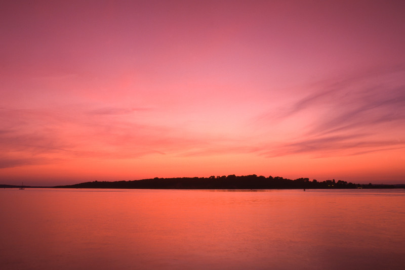Sunset, Brownsea Island