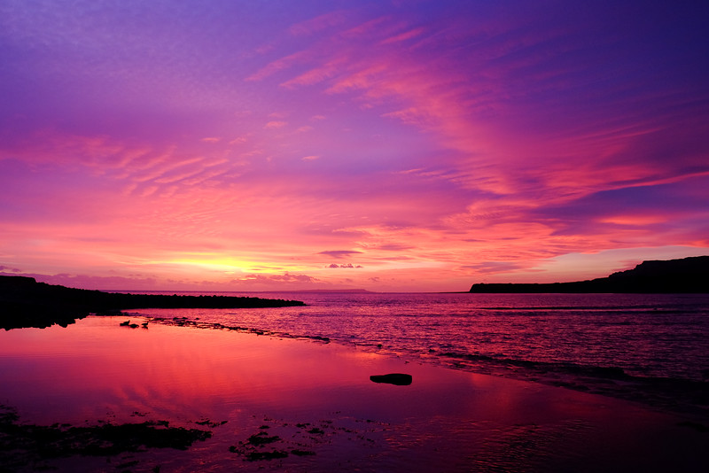 Sunset, Kimmeridge Bay