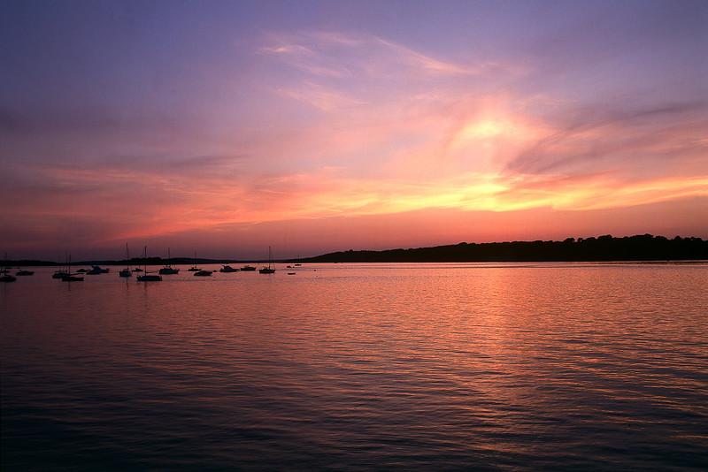 Sunset, Brownsea Island