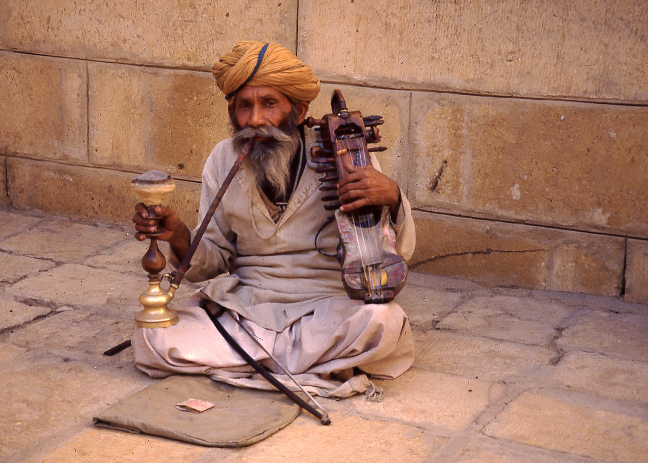 DOWN AND OUT IN JAISALMER - INDIA