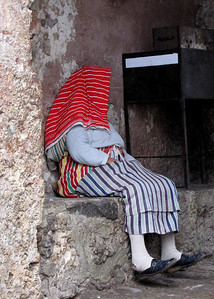 DOWN AND OUT IN CHEFCHAOUEN - MOROCCO