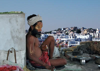 DOWN AND OUT IN PUSHKAR - INDIA