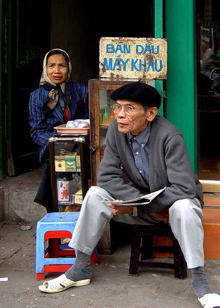 DOWN AND OUT IN HANOI - VIETNAM