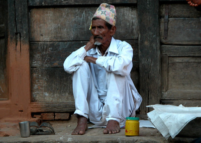 DOWN AND OUT IN BHAKTAPUR - NEPAL