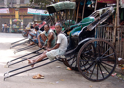 DOWN AND OUT IN CALCUTTA - INDIA