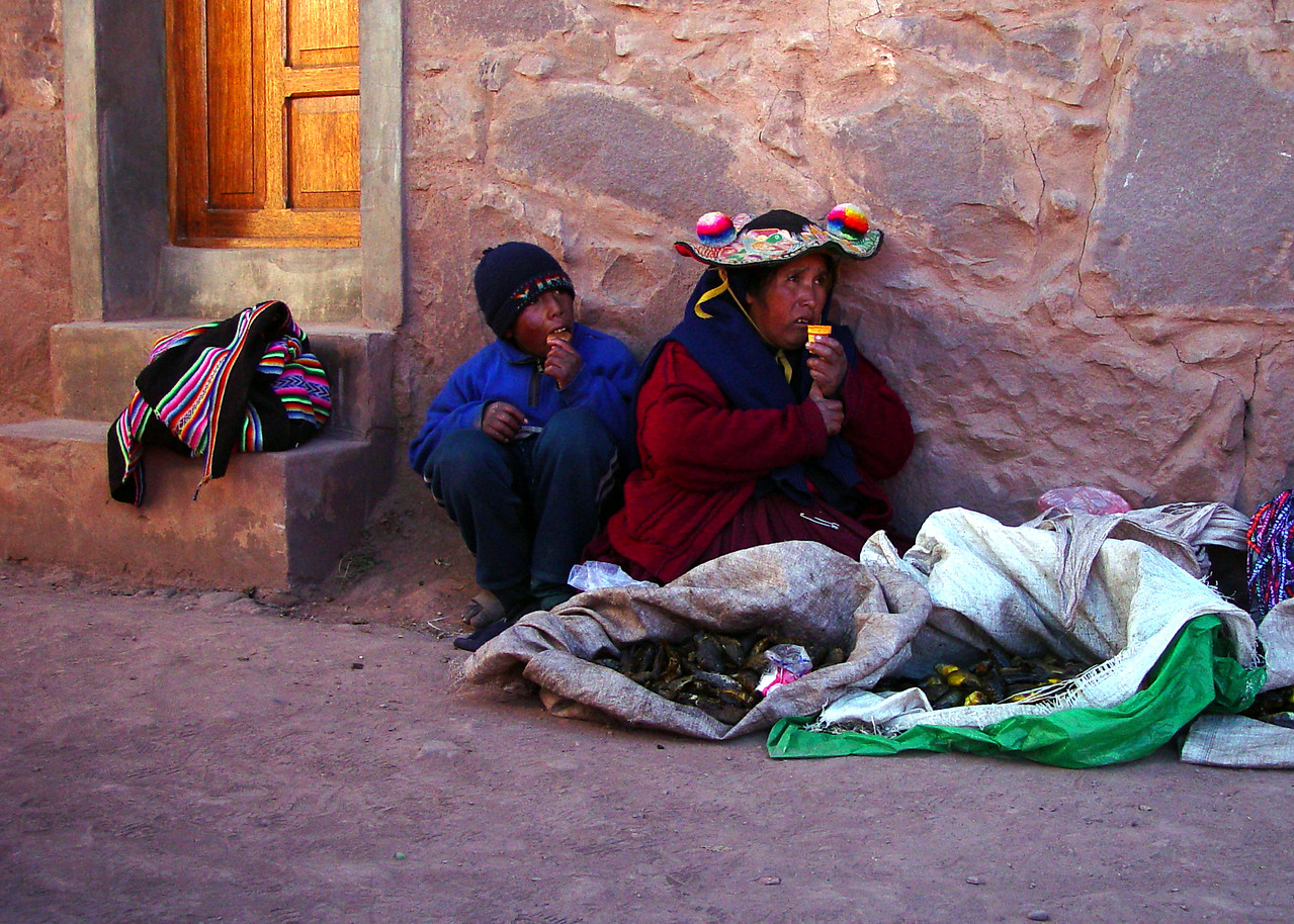 DOWN AND OUT ON TAQUILE ISLAND - PERU