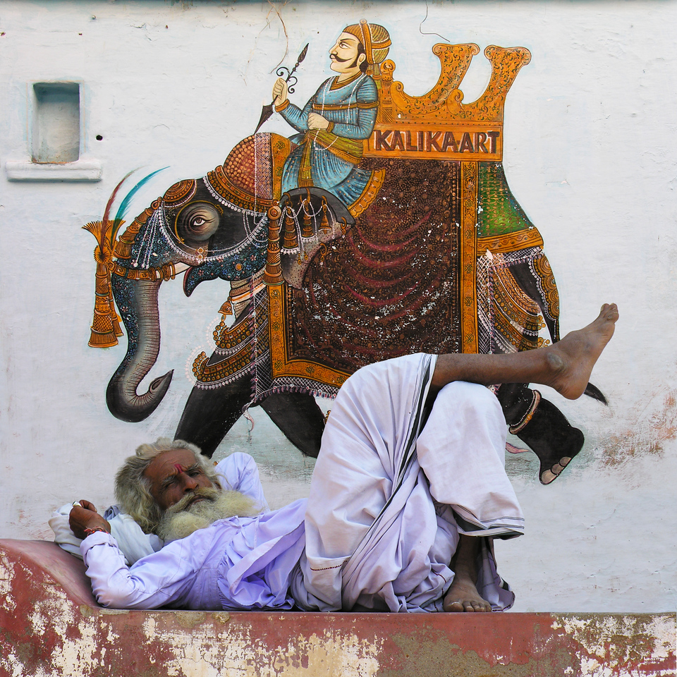 DOWN AND OUT IN RAJASTHAN - INDIA
