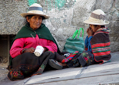 DOWN AND OUT IN LA PAZ - BOLIVIA