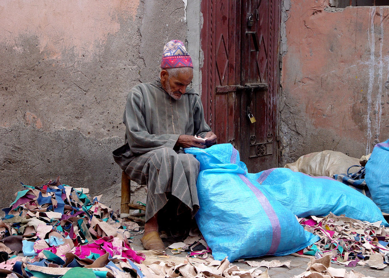 DOWN AND OUT IN FEZ - MOROCCO