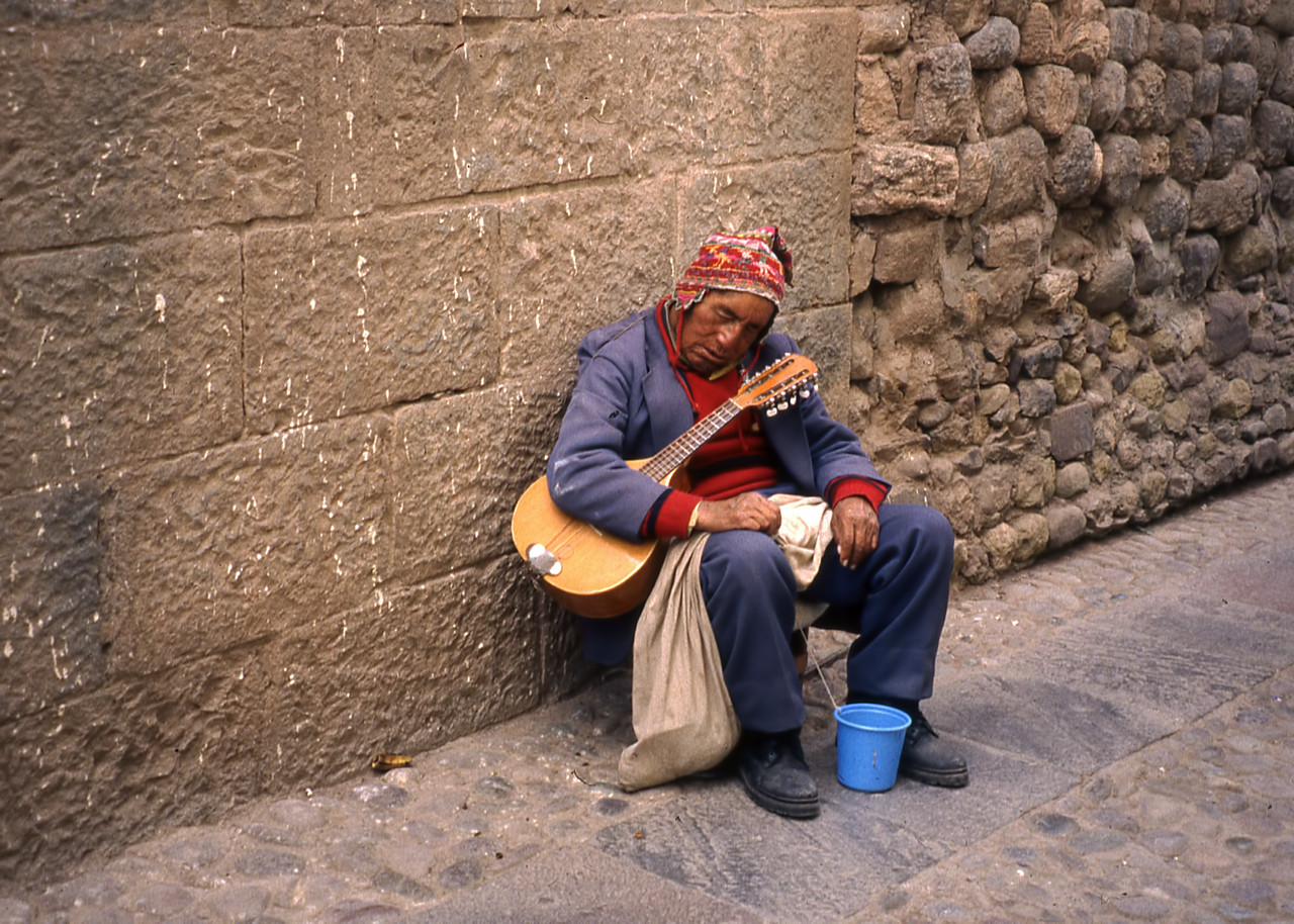 DOWN AND OUT IN CUZCO - PERU