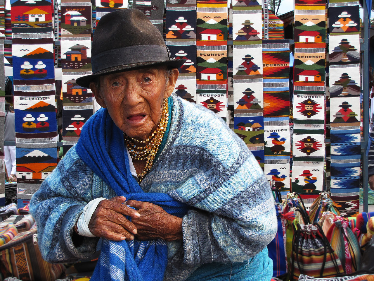 DOWN AND OUT IN OTAVALO - ECUADOR