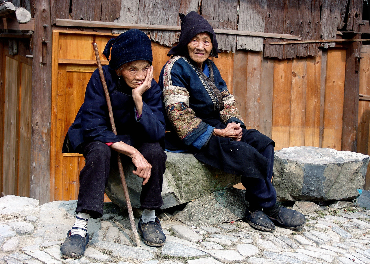 DOWN AND OUT IN LANGDE VILLAGE - CHINA