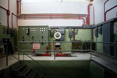 Boiler Room at Fabrica 'La Aurora'