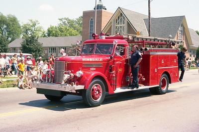 HINSDALE FD  1955 PIRSCH  750-300