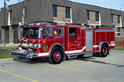 DOWNERS GROVE FD ENGINE 464  FORD C-8000-E-ONE 1250-500