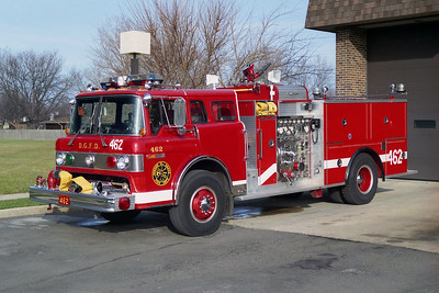 DOWNERS GROVE FD ENGINE 462  FORD C-8000-PIERCE  1250-500