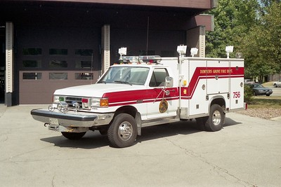 DGFD SQUAD 756   FORD F450 - LUVERNE