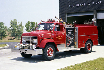 DOWNERS GROVE FD  ENGINE 356  GMC-DARLEY  1000-800