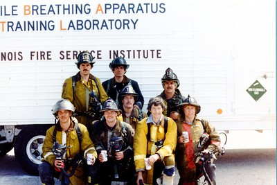 FSI  SMOKE DIVERS 1982   GROUP SHOT